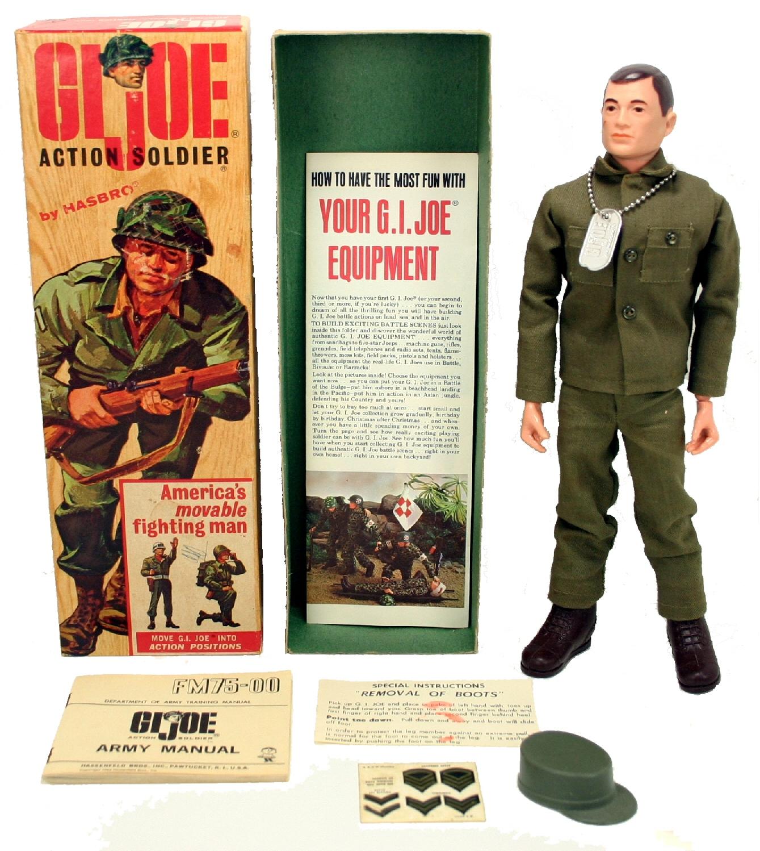 "Vintage GI Joe SOTW Adventure Team 12/"" OD Green Poncho"
