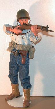 Hasbro GI Joe Timeless Collection SILVER PISTOL /& HOLSTER 1//6 Scale LOOSE Rare