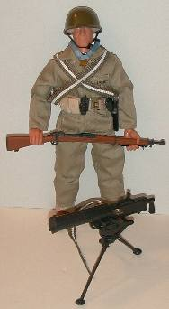 2006 G.I. Jane BIN C8 GI JOE Accessory   Sub Machine Gun with Assault Stock