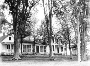 The Fort Ticonderoga Hotel Also Known As Pavilion Circa 1895 M Wright Collection